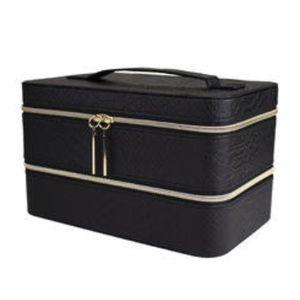 LANCOME Holiday Beauty Box Case -Snake Skin Design